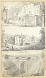 Highgate Road & Highgate Tunnel, London, c.1826